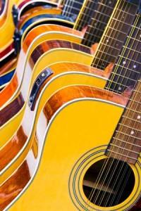 guitarra acustica madera