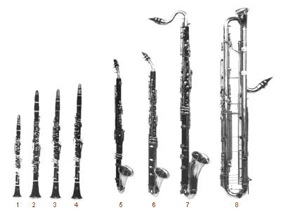 familia clarinete