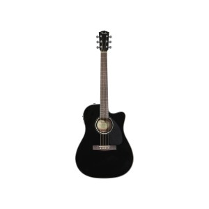 ELECTROACUSTICA FENDER CD-140SCE BK CUERPO DREADNOUGHT