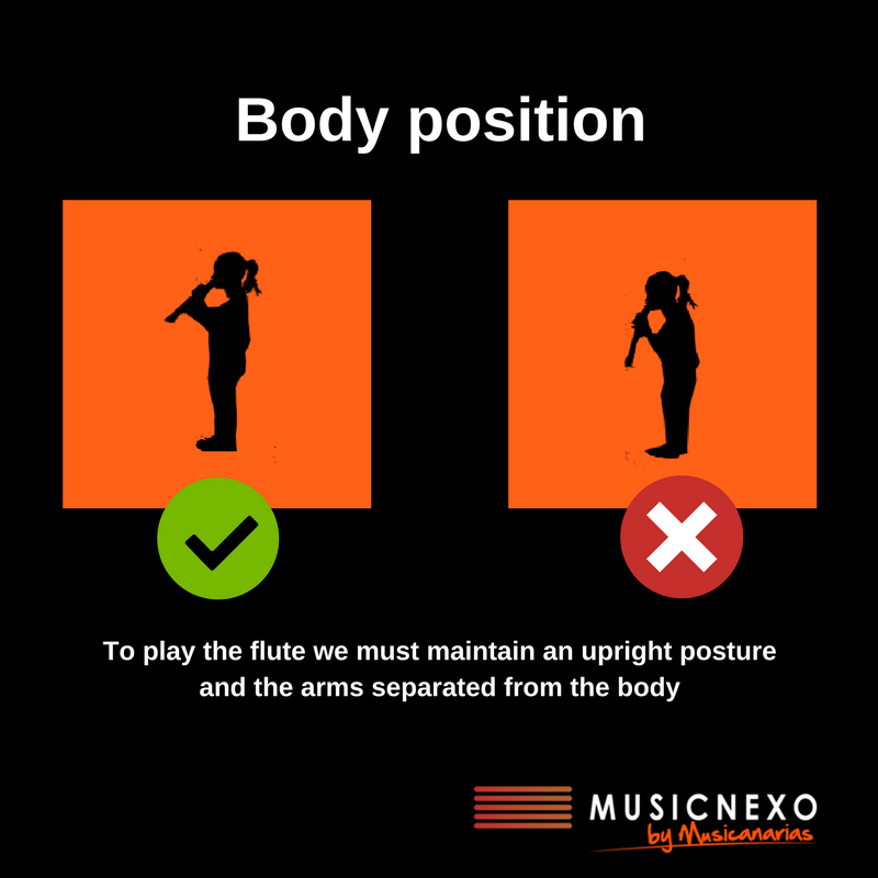 body position flute
