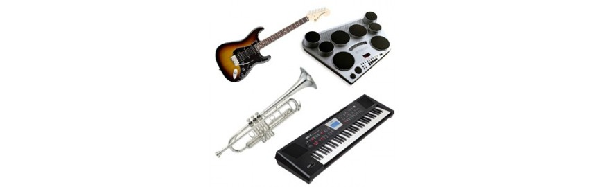 Musical instruments outlet