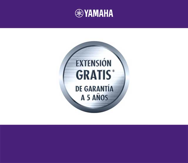 Extend Yamaha guarantee