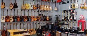 Guitarras eléctricas y acústicas