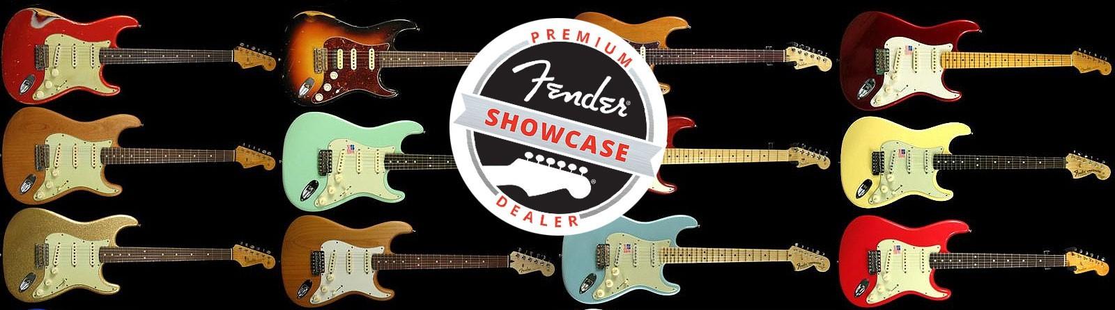 Fender Basses & Guitars