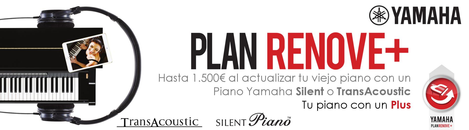 ¡Cambia tu viejo piano acústico o digital* por un nuevo Silent, AvantGrand o TransAcoustic! Consigue un descuento de hasta 1500€.