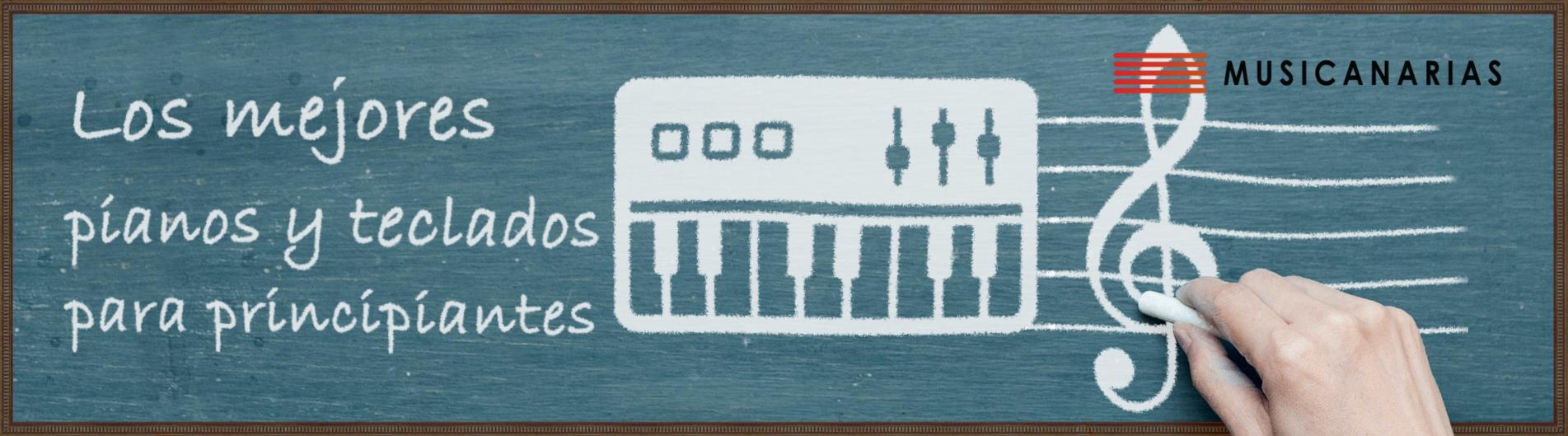 Los mejores teclados y pianos para principiantes